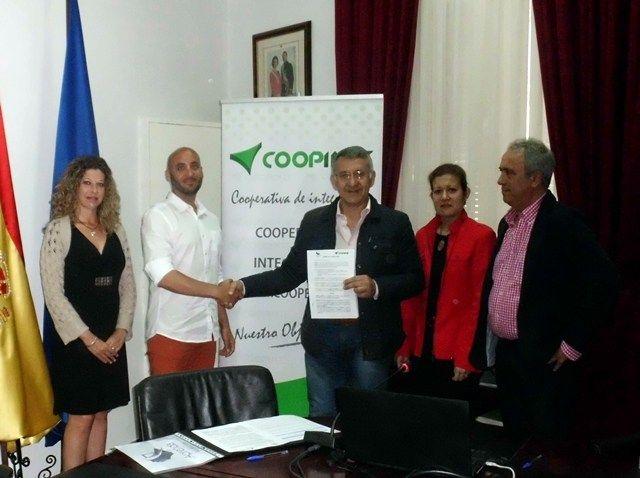 Firma de acuerdo con Coopinte Bonares