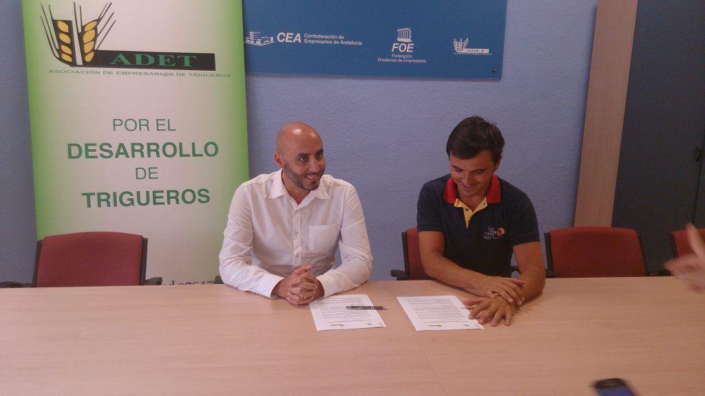 Colaboración con Asociación de Empresarios ADET en Trigueros