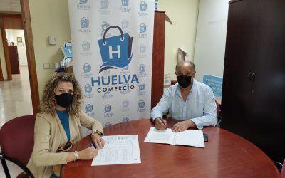 Firma de Convenio de Colaboración entre ACORIM y Huelva Comercio